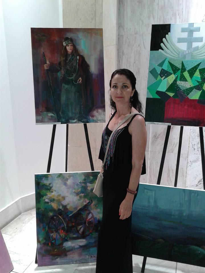 -Ангелина Недин Изложба 2017