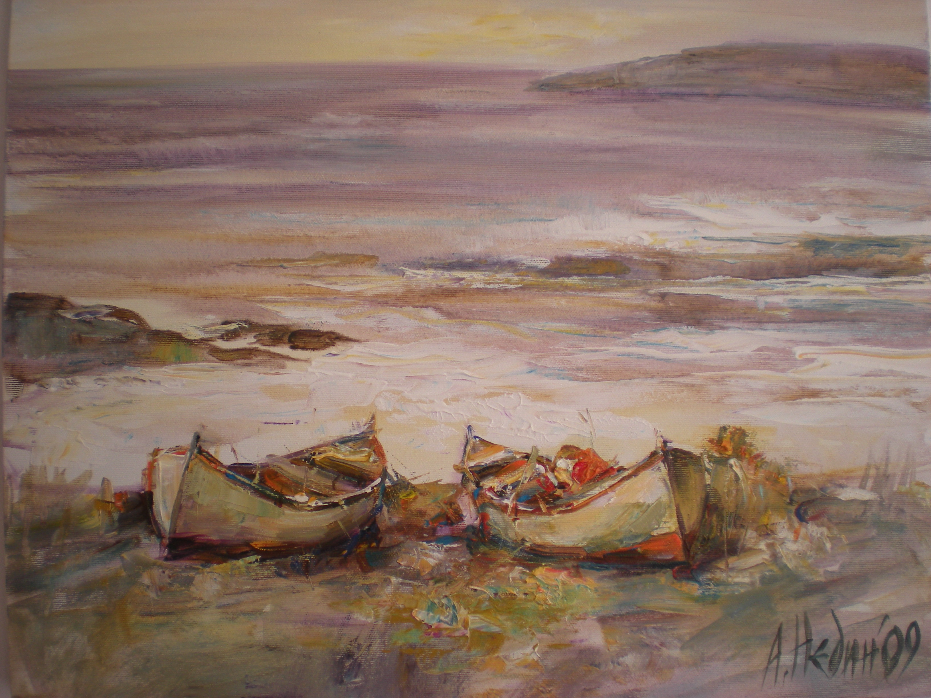 Живопис,Морски Пейзаж