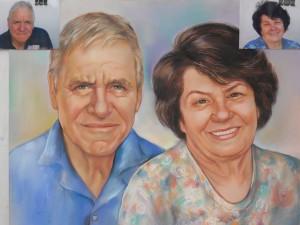 Семеен портрет по снимка