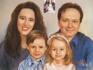 Подарък за Коледа -Семеен Портрет