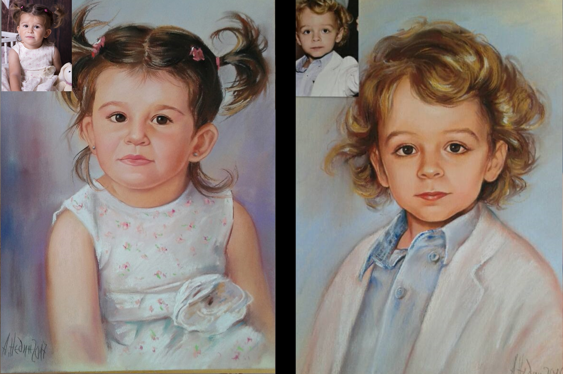 myportret.com-Детски Портрет