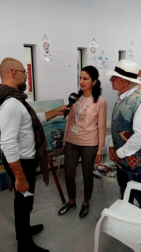 Ангелина Недин с Участие на Международен Пленер по Изобразително Изкуство Кипър 2018