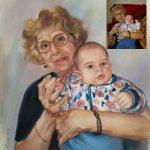 Баба и Бебе Ангелина Недин 2019