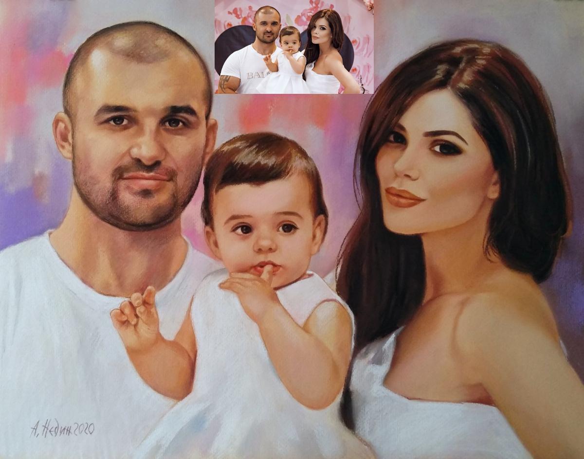 Семеен Портрет на Певицата Преслава Ангелина Недин 2020