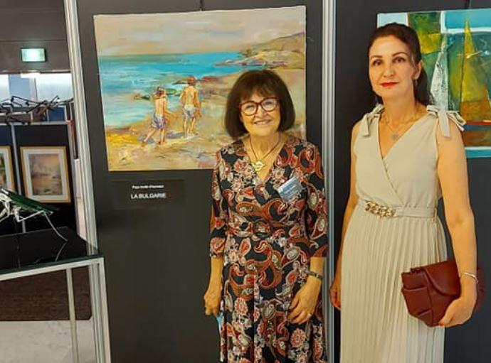 """Бронзов медал- трета награда за живопис на 36-то Биенале """"Международен салон за живопис и скулптура"""" гр. Вител Франция 2021"""