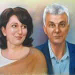 семеен портрет рисвуан по снимка