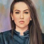 Портрет на Момиче Ангелина Недин 2019